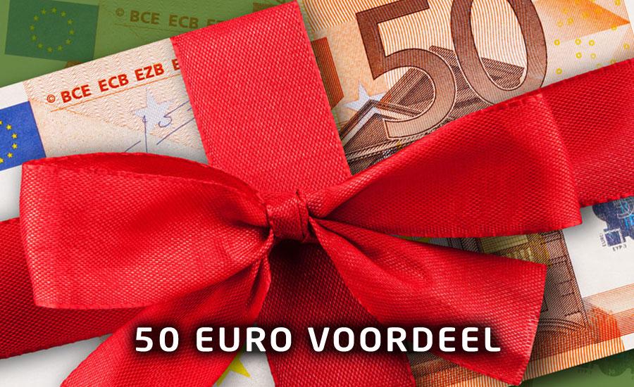 Betrouwbare webhosting met 50 euro korting