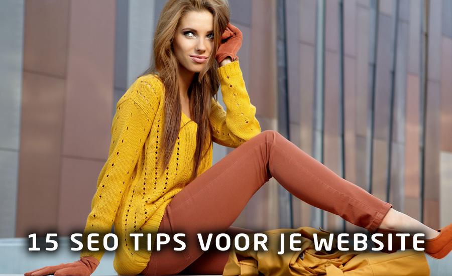 15 SEO tips voor je website