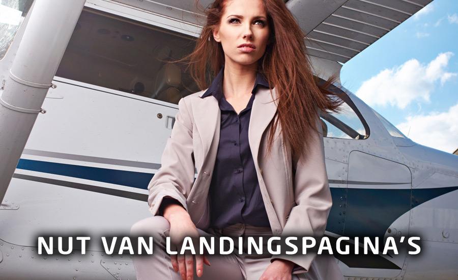 Het gebruik van landingspagina's