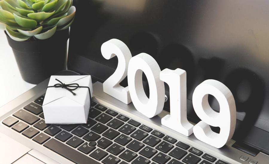 Een succesvol en ondernemend 2019 gewenst