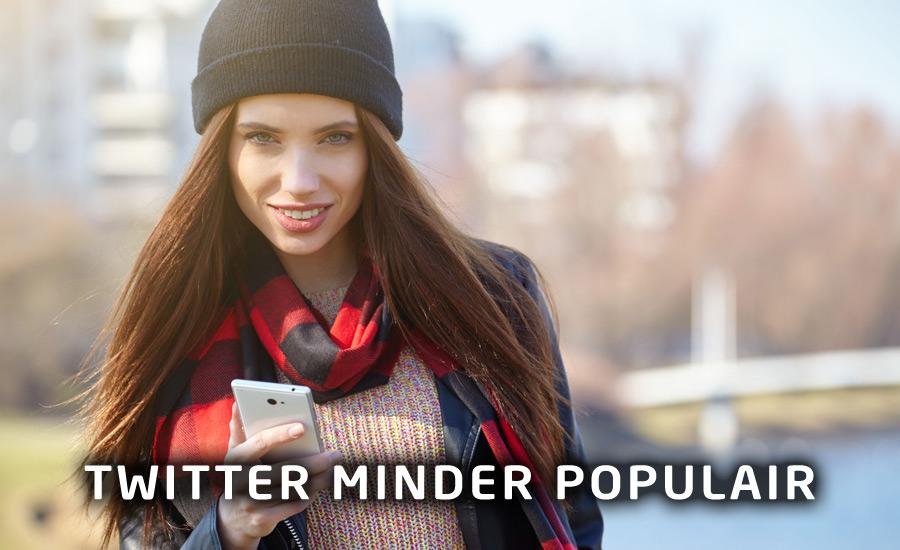 Twitter daalt in populariteit