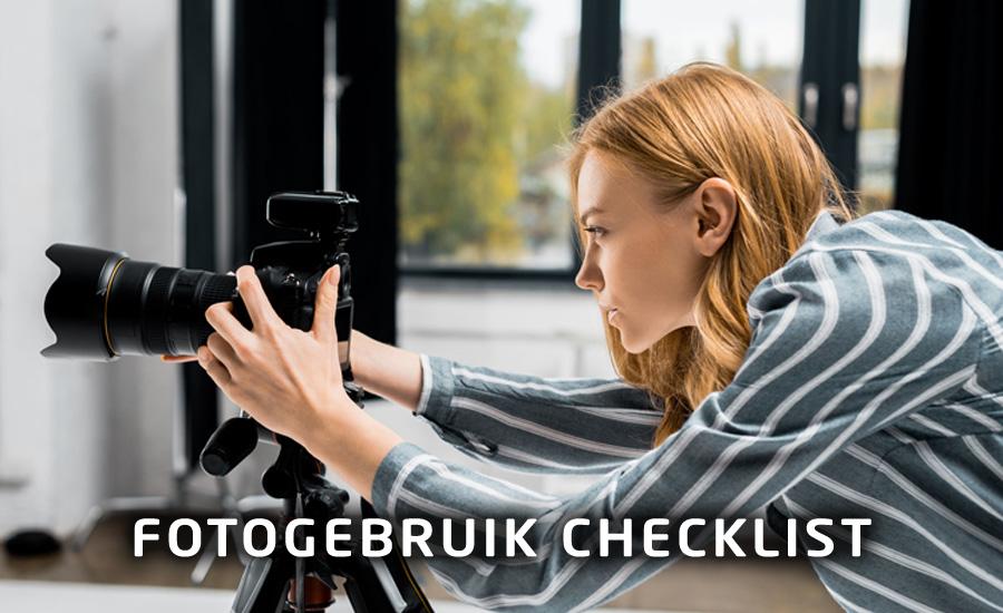 Gratis fotogebruik checklist